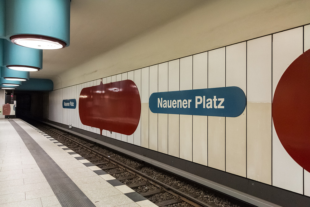 "Berlin, U-Bahnstation ""Nauener Platz"" (Bild: Sven Heinrichs)"