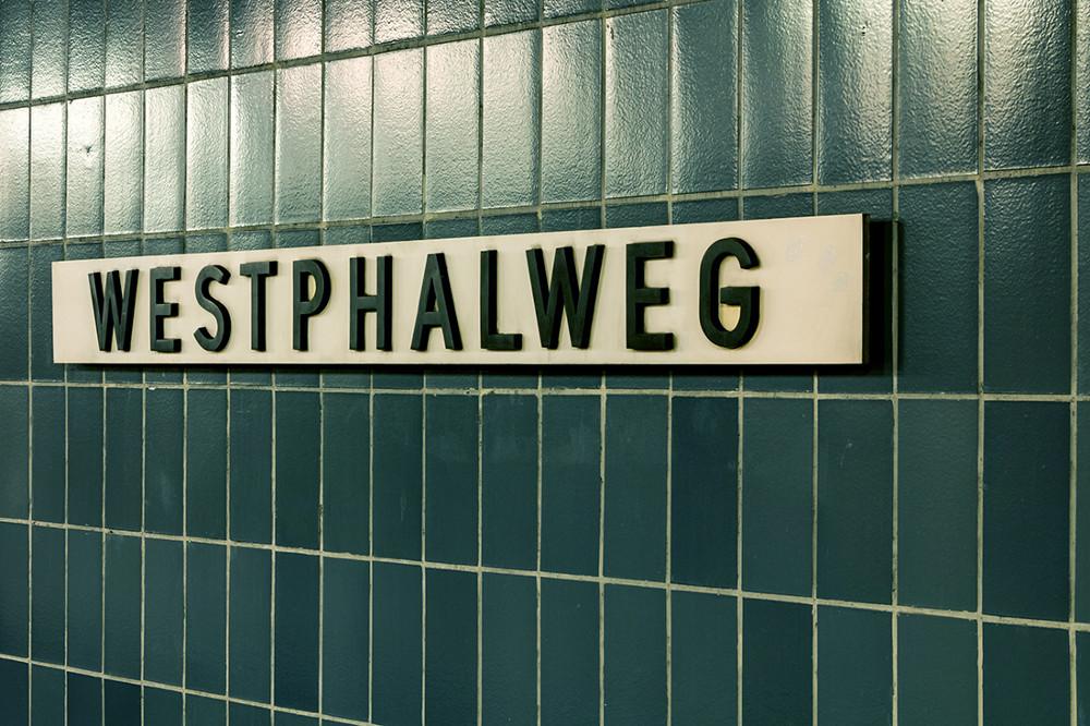 "Berlin, U-Bahnhstation ""Westphalweg"" (Bild: Sven Heinrichs)"
