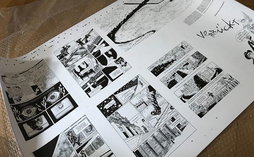 """""""Verrückt. Das Comic zum Berliner Schloss"""" (Bild: urbanophil-Verlag)"""
