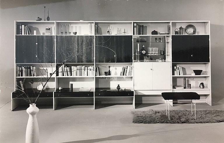 Rudolf Horn, Montagemöbel der Deutschen Werkstätten (MDW), 1968 (Bild: VEB Möbelkombinat Deutsche Werkstätten Hellerau, Foto: 1968)