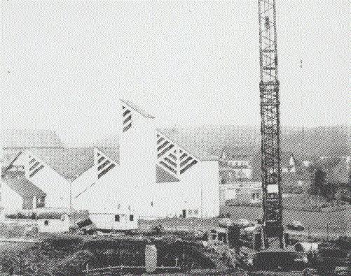 Daun, St. Thomas Morus, 1980 (Bild: Heimatbuch Vulkaneifel, 1980)