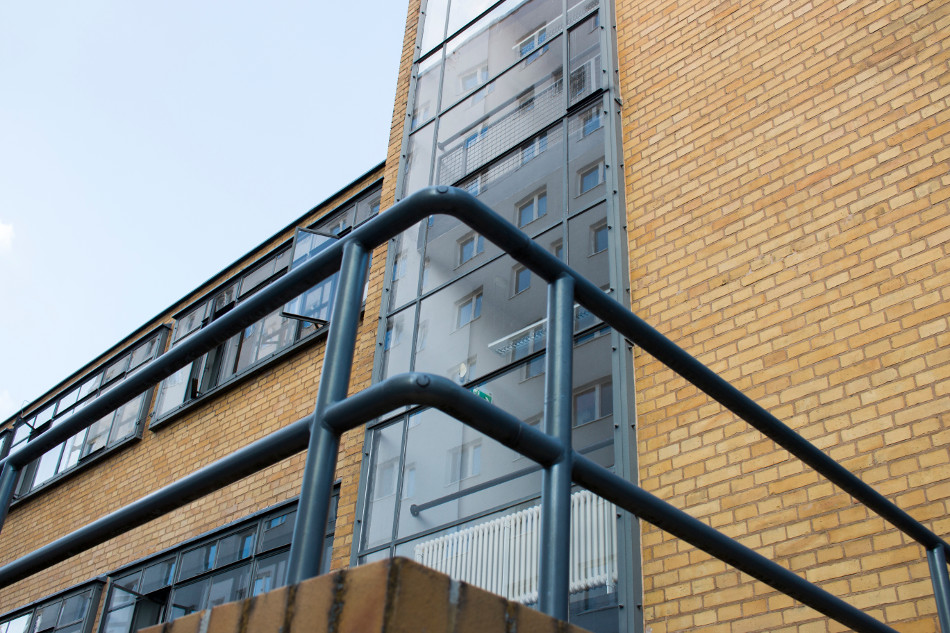 Dessau, Arbeitsamt (Bild: Stiftung Bauhaus Dessau, Foto: Nathalie Wächter)
