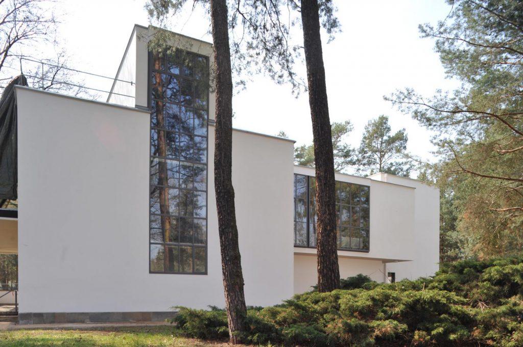Dessau, Meisterhaus Kandinsky/Klee, Nordansicht nach der Sanierung (Bild: Brenne Architekten)