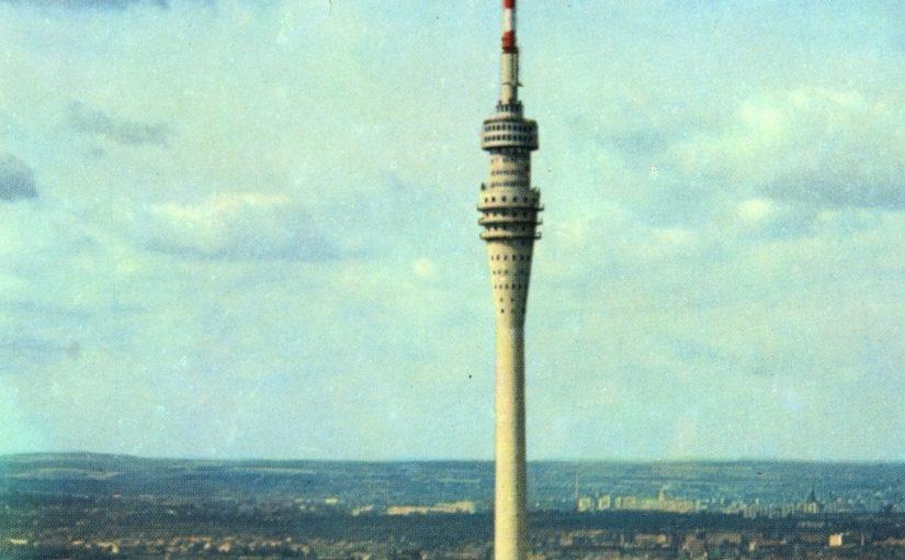 Dresden, Fernsehturm, 1971 (Bild: Brück & Sohn Kunstverlag Meißen, CC BY SA 3.0)