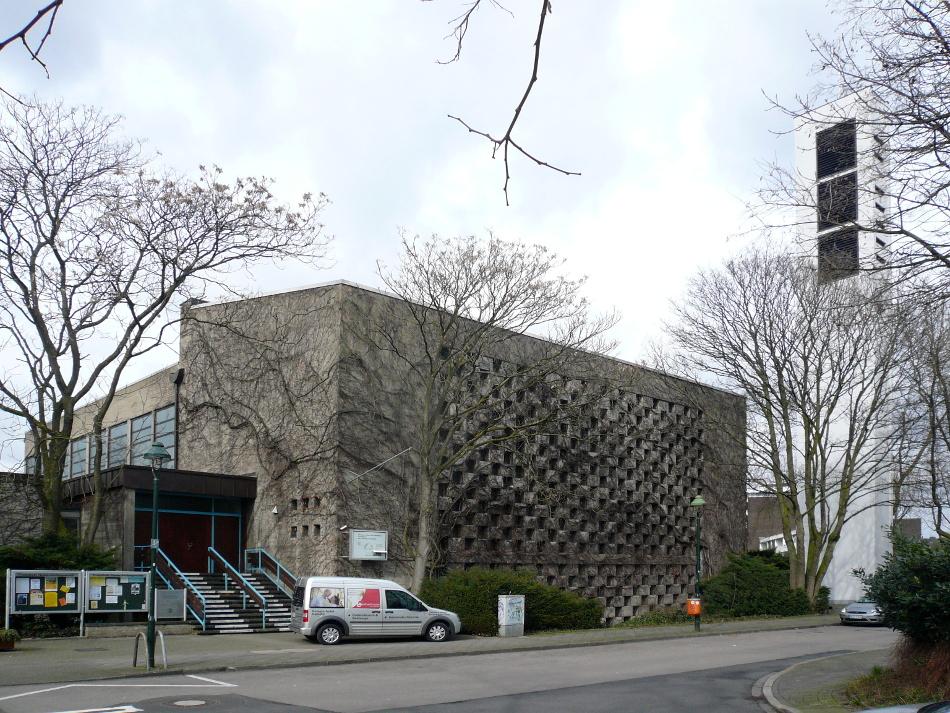 Düsseldorf, Thomaskirche (Bild: Taurus65, CC BY SA 3.0 oder GFDL, 2009)
