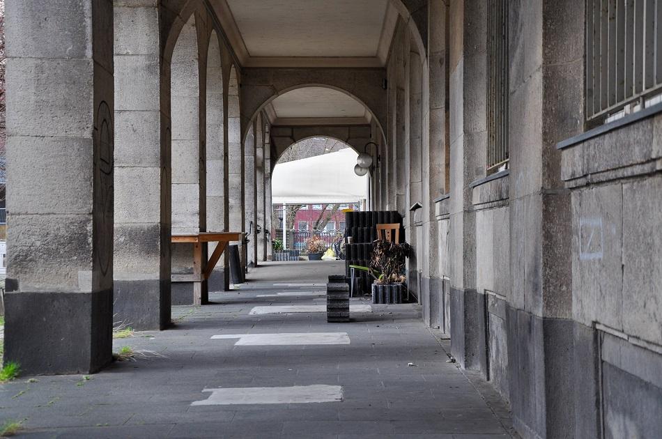 Essen, ehemaliges Ledigenwohnheim (Bild: C. Schulze, 2021)