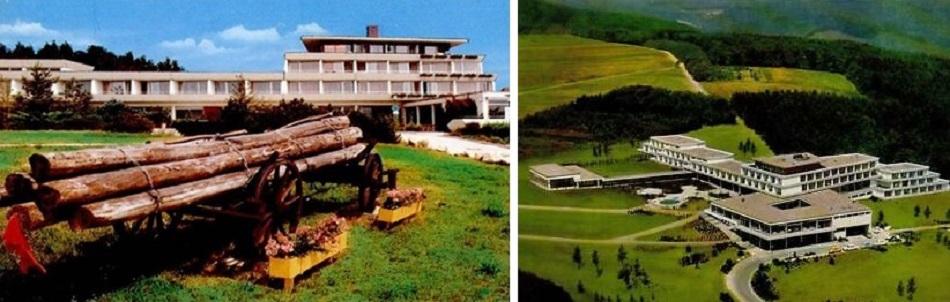 Ferienzentrum Kiedrich (Bilder: historische Postkarten)