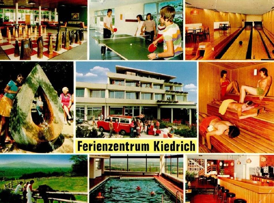 Ferienzentrum Kiedrich (Bild: historische Postkarte)