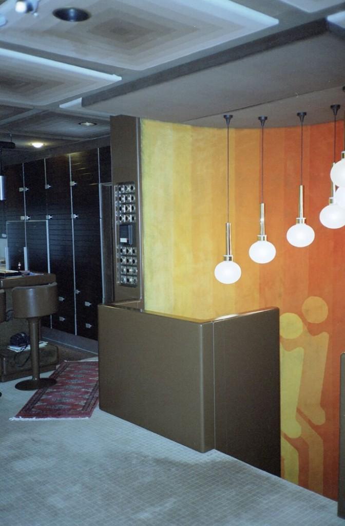 Ausstattung des Wohnhauses: Treppenhaus (Bild: FOMEKK Bauhaus-Universität Weimar, 2002)