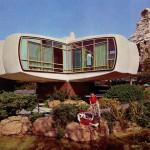 House of the Future, 1957-67 im californischen Disneyland (Bild: Archiv Institut für Bauen mit Kunststoffen)