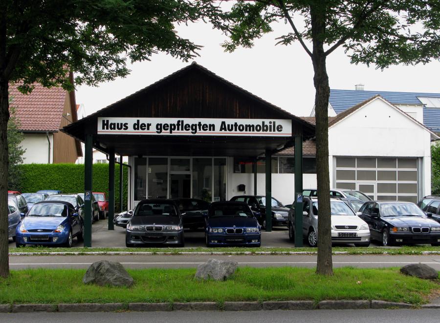 Friedrichshafen, ehemalige Tankstelle (Bild: Peter Liptau)