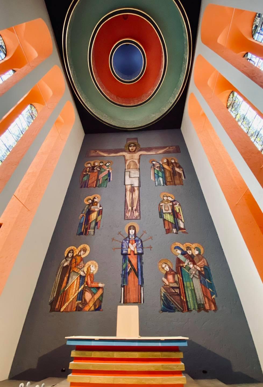 Frankfurt, Frauenfriedenkirche (Blder: Pfarrei St. Marien Frankfurt)