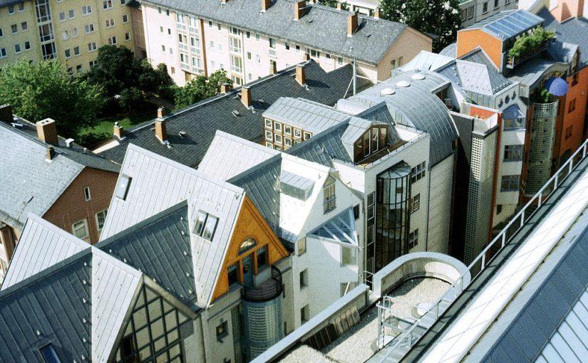 Frankfurt am Main, Saalgasse (Bild: Dguendel, GFDL oder CC BY SA 3.0, 1992)