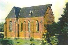 Fronhoven, St. Josef (Bild: historische Postkarte, via st-silvester-lohn.de)