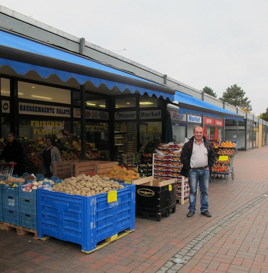"""Garbsen, """"Auf der Horst"""", Läden am Orionhof, 2016 (Foto: privat)"""