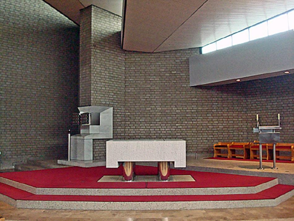 Gütersloh, St. Bruder Konrad (Bild: Hewa, CC BY SA 3.0 oder GFDL, 2013)