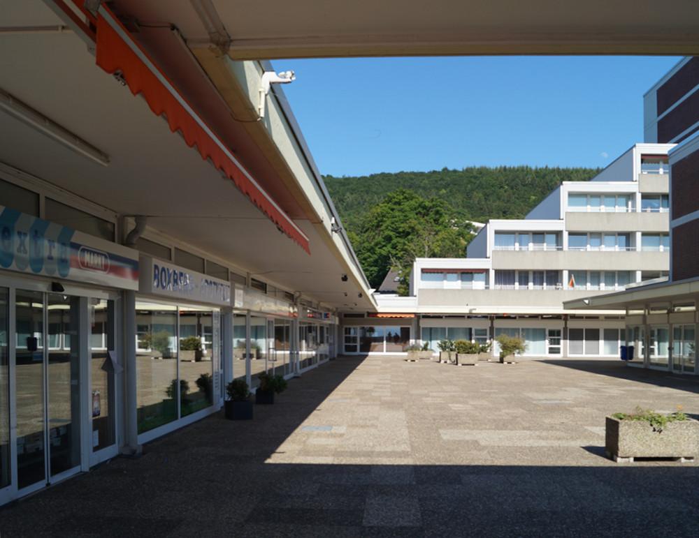 Heidelberg-Boxberg, Einkaufszentrum (Bild: Maximilian Kraemer, 2020)