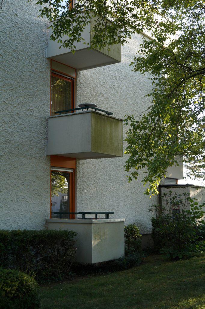 Heidelberg-Boxberg, Zeilenbauten von Kammerer + Belz (Bild: Maximilian Kraemer, 2020)
