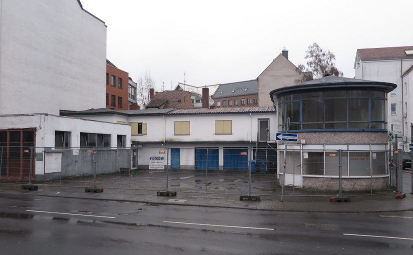 Hofheim am Taunus: Motel Mariann vor dem Abriss