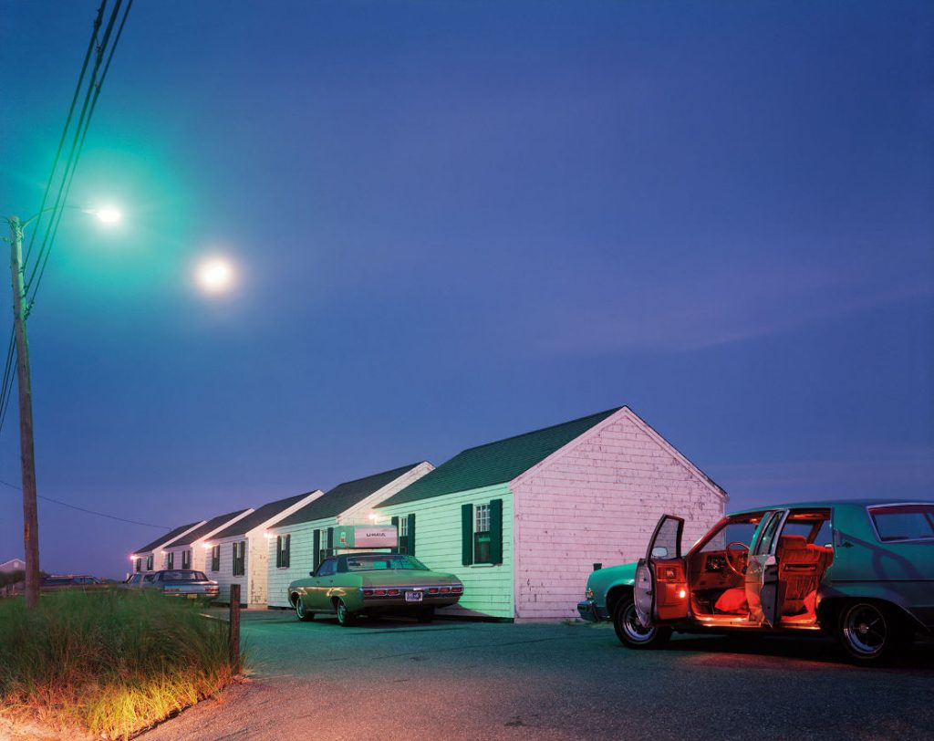 Joel Meyerowitz: Roter Innenraum, Provincetown, 1977 (Bild: C-Print, Ambassador Trevor Dow Traina © Joel Meyerowitz, Courtesy Howard Greenberg Galler