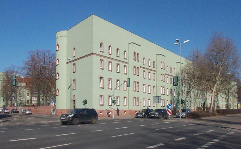 """Kaiserslautern, """"Grüner Block"""" (Bild: Leiflive, CC BY SA 4.0, 2018)"""