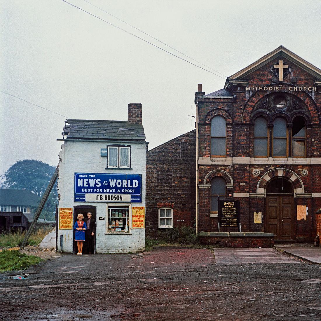 Peter Mitchell, Mr & Mrs Hudson, Leeds, 1974, © Peter Mitchell