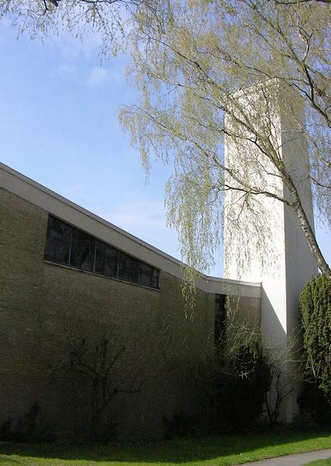 Kleve-Kellen, Auferstehungskirche (Bild: kulturkirchen.org)