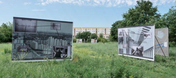 """Ausstellungsprojekt """"Kreise ziehen III"""" (Bild: station urbaner kulturen)"""