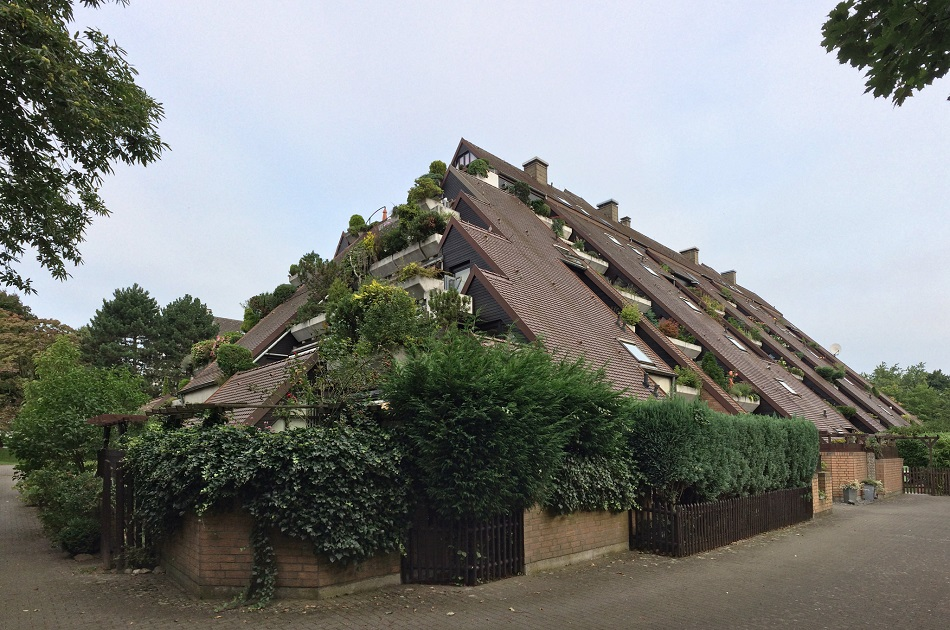 Marl, Hügelhaus IV (Bild: Gunnar Klack, CC BY SA 2.0, 2017)