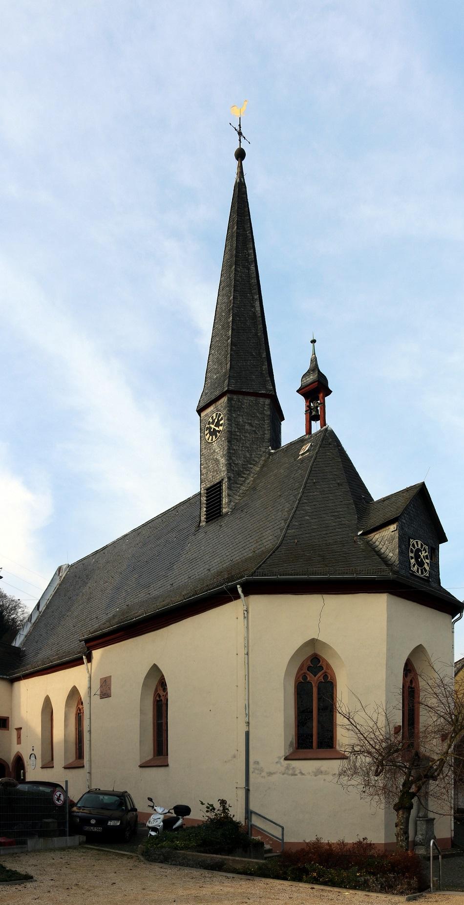 Martinsthal, St. Laurentius und St. Sebastianus (Bild: Oliver Abels, CC BY SA 3.0, 2014)
