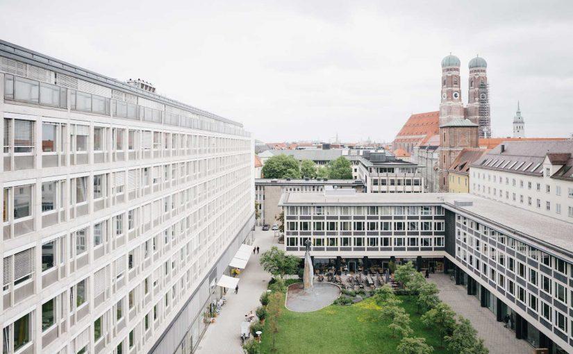 München, Maxburg, Innenhof (Bild: Copyright Designbüro Josef Grillmeier, München)