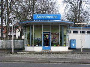 Niederrimsingen, ehemalige Tankstelle (Bild: Peter Liptau)
