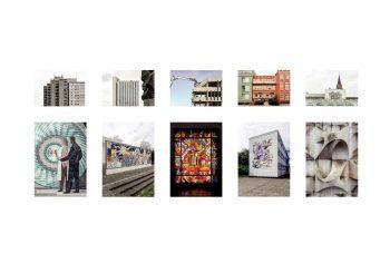 """Überblickspostkarte der Postkartendose """"Maleschka"""" (Bilder: Martin Maleschka)"""