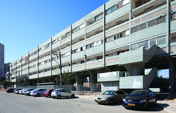 Quarter Kilometer House (Avraham Yaski, Amnon Alexandroni) (Foto: Shai Epstein, Copyright: Bauhaus Center Tel Aviv)