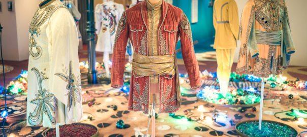 Blick in die Ausstellung (Bild: Textilmuseum St. Gallen)