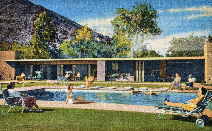 Town and Desert apartments, Palm Springs, California, 1948 (Bild: © Courtesy Wagener-Erganian Collection)
