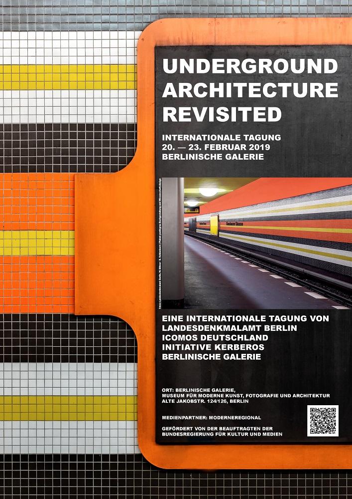 """Tagung """"Unerground Architecture Revisited"""" (Bild: Plakat)"""