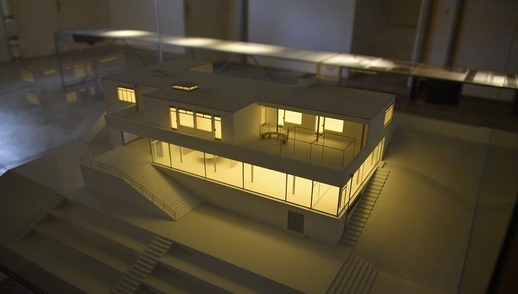 Brünn, Haus Tugendhat, Modell (Bild: Christian Michelides, CC0 1.0, 2013)