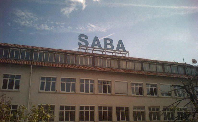 Villingen, SABA-Werk (Bild: Haseluenne, GFDL oder CC BY SA 3.0, 2007)