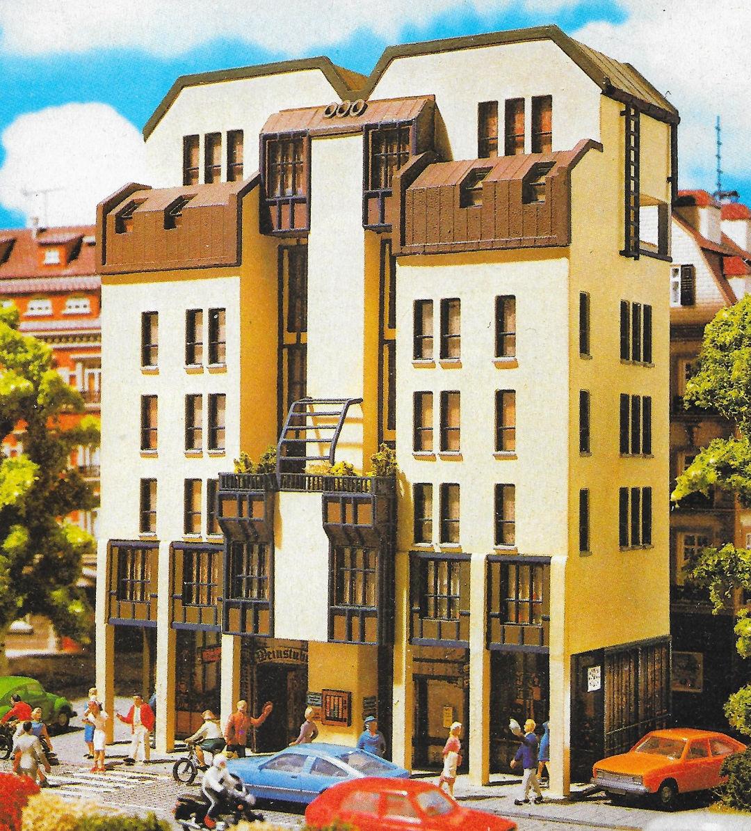 Vollmer-FutureLine, City-Wohnhaus (Bild: Vollmer-Katalog 1987, privat)
